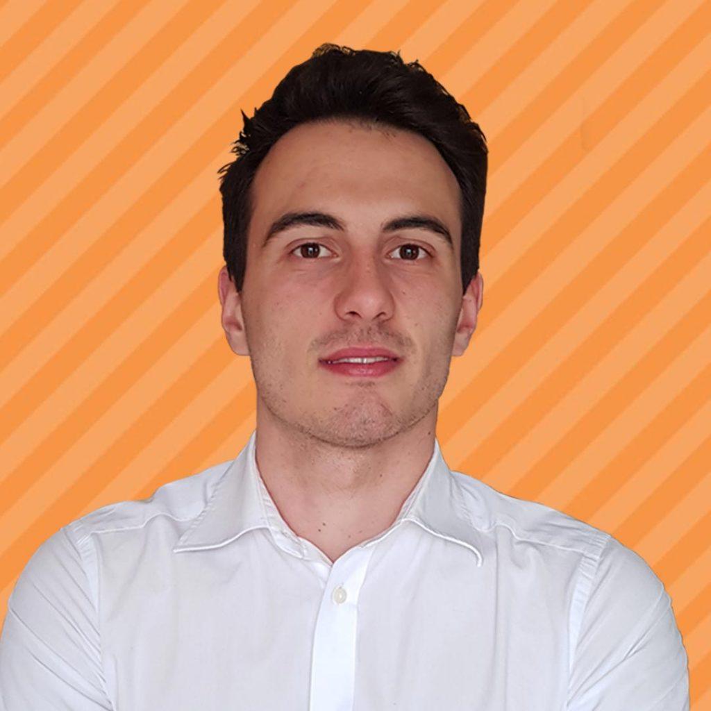 Riccardo Baccetti Orange Background