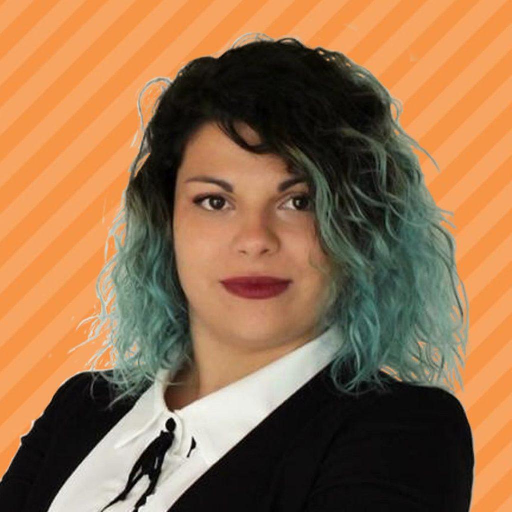Roberta Sanna Orange Background