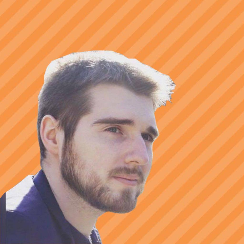 Viacheslav Kurdyukov Orange Background