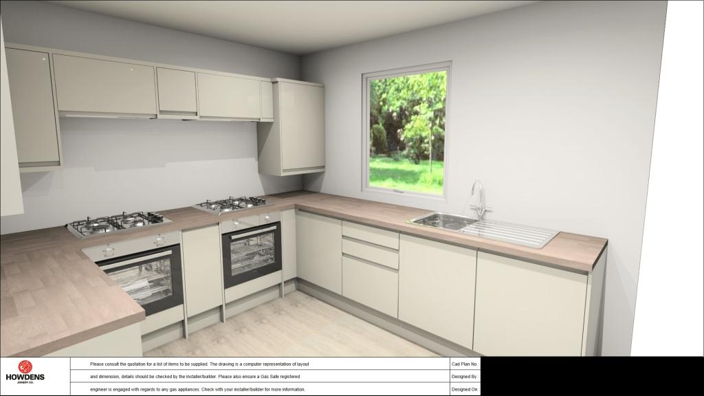 HMO Kitchen Design 2 - Howdens