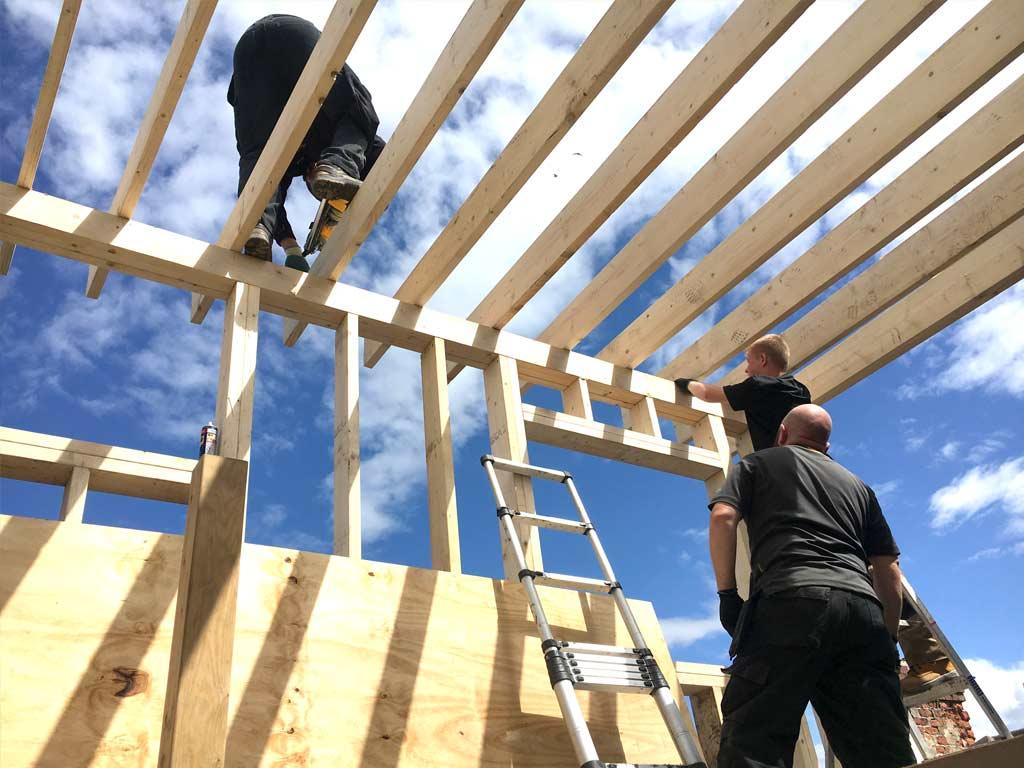 HMO Building Control - Project under construction